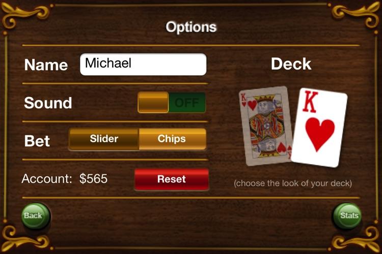 Card Master Lite - Texas Hold'em - Poker - Blackjack screenshot-3