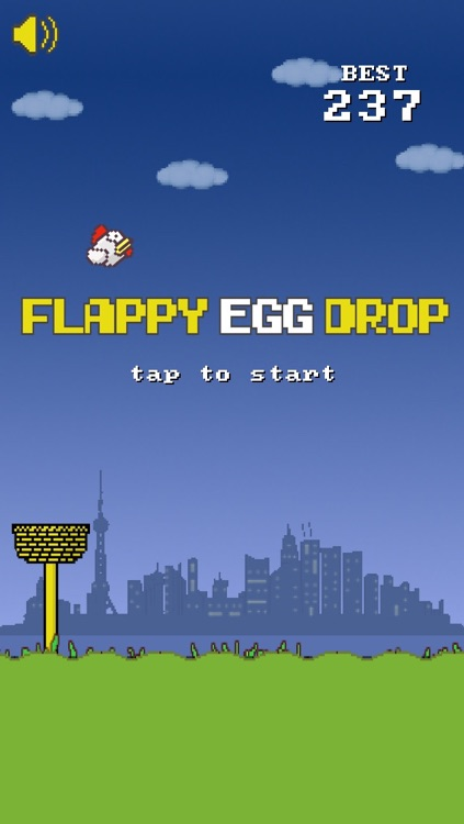 Flappy Egg Drop Free Fall screenshot-4