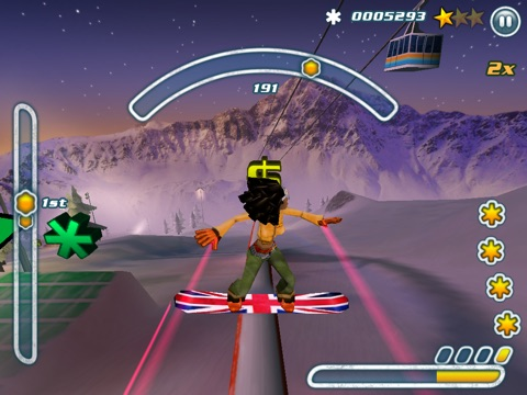 Screenshot #4 for Snowboard Hero
