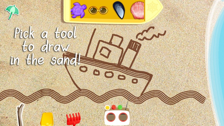 Sand Drawing - by Timbuktu