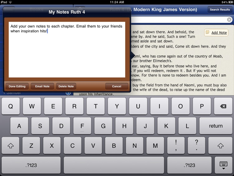 65 Bibles and Commentaries with Bible Study Tools screenshot-3