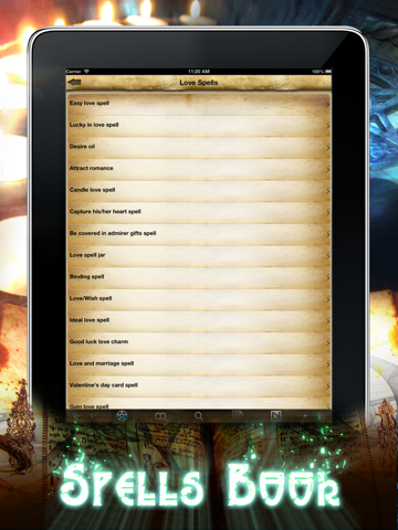 Spells and Witchcraft Handbook screenshot