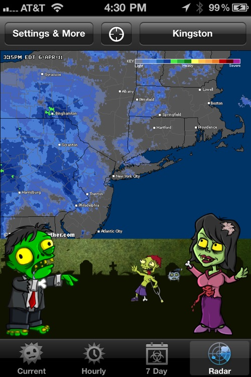 Weather Zombie screenshot-3