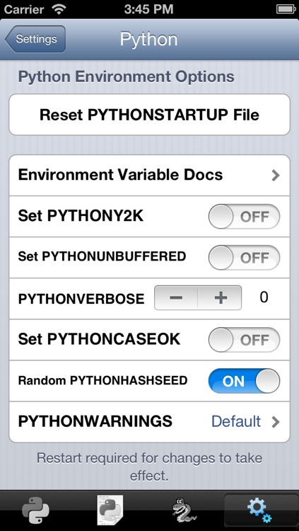 Python 2.5 for iOS screenshot-3