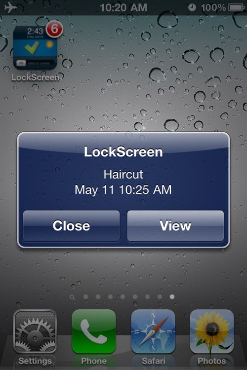 Make LockScreen (To-do List & Weather) screenshot-3