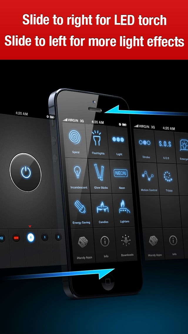 iHandy Flashlight Pro Screenshot 4