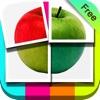 写真分割 無料 - Photo Slice HD FREE - かわいいコラージュ文字入れスタンプ写真