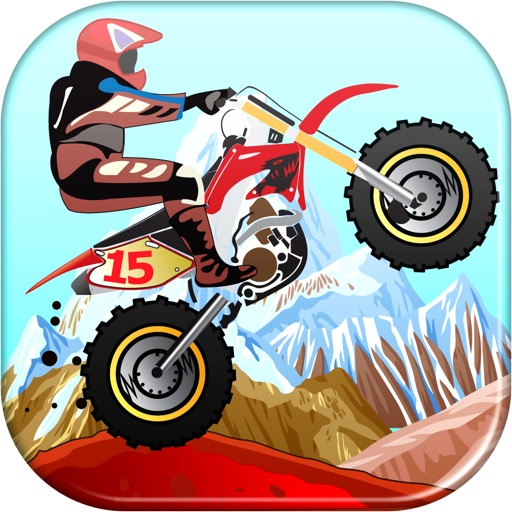 A Moto X Speed Games Desert Racing Jump Challenge for Fast Boys