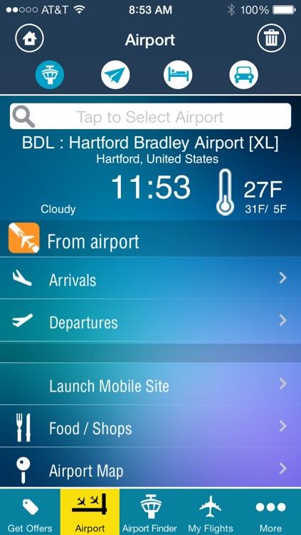 Hartford Bradley Airport - Flight Tracker Premium BDL
