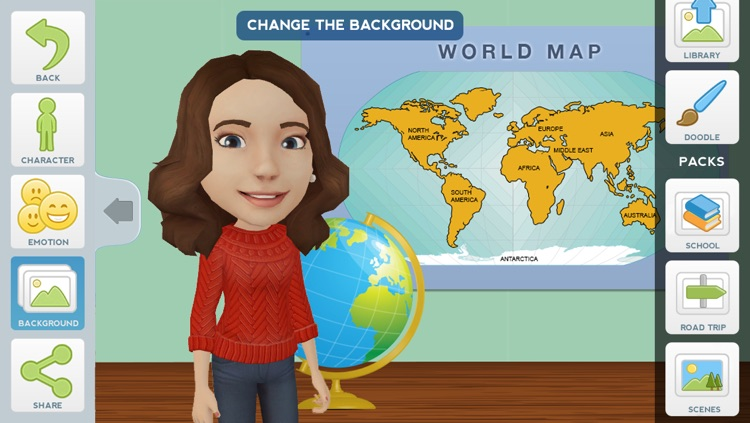 Tellagami Edu screenshot-2