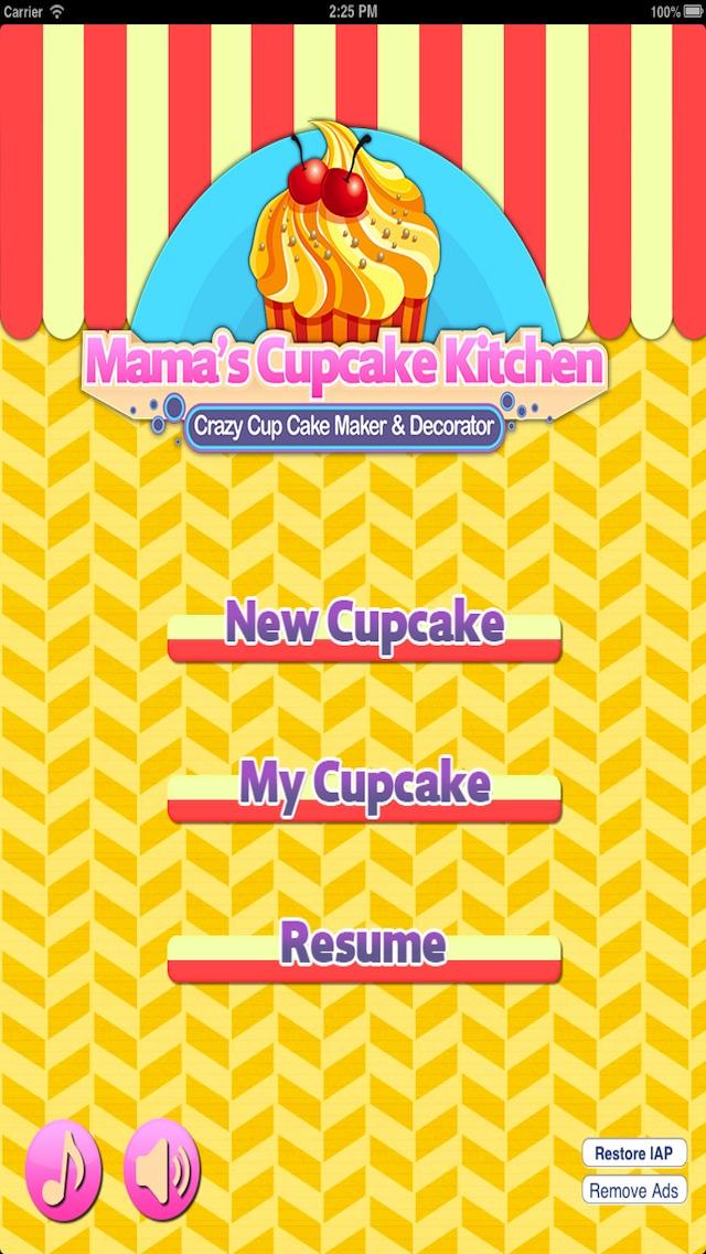 Mama's Cupcake Kitchen : Crazy Cup Cake Maker & Decorator 2.5 IOS