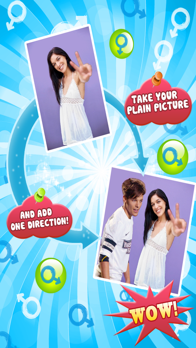 Photo Booth - One Direction version free for Facebook,