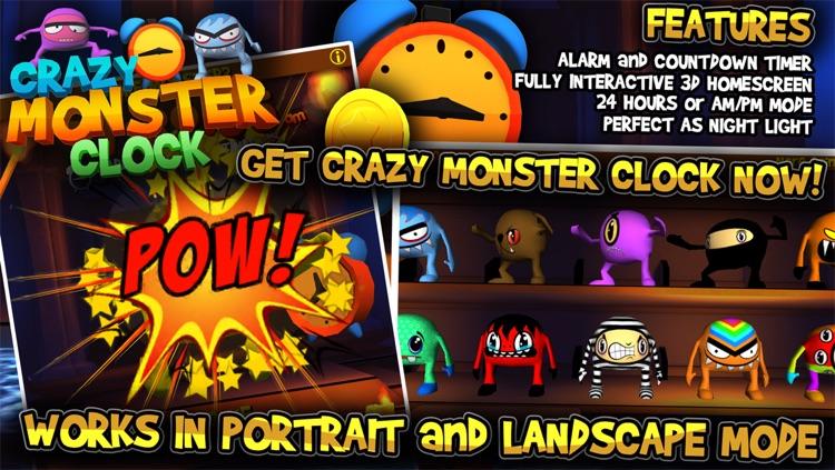 Crazy Monster Clock screenshot-4