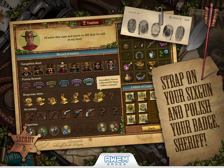 Golden Trails: Hidden Object Adventure Western screenshot-3