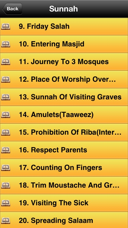 Sunnahs of Prophet Muhammad(Pbuh) screenshot-1