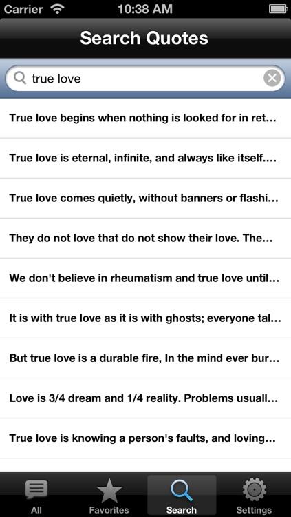 Love QuickQuotes Lite