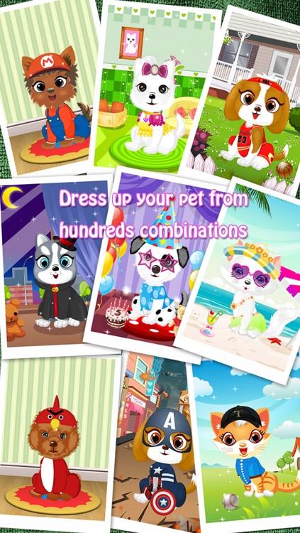 Dress Up - Pet Salon screenshot-3