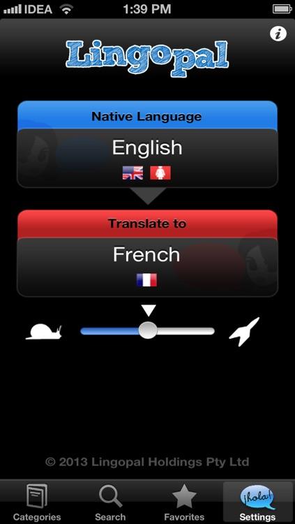 Lingopal French LITE - talking phrasebook