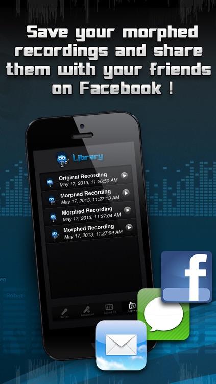 Voice Morphing screenshot-3