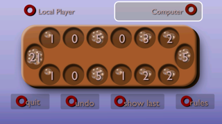 Mancala screenshot one