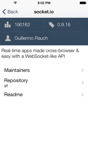 SearchNPM trên App Store