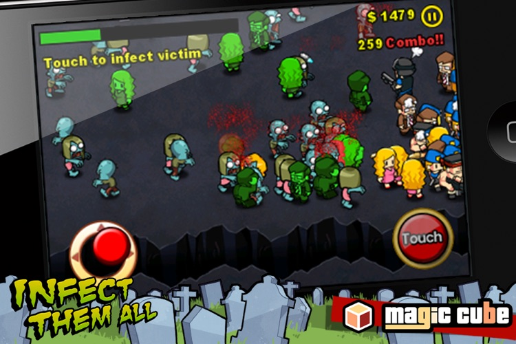 Infect Them All : Zombies