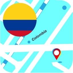 Colombia Offline Map