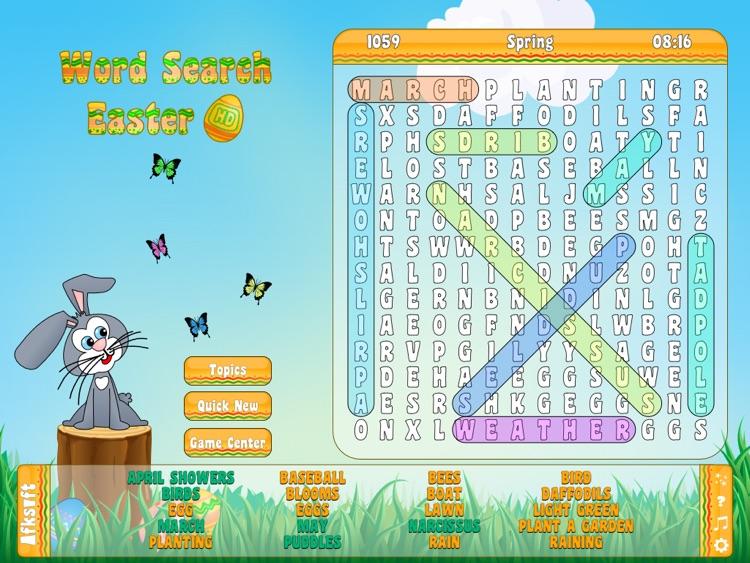 Word Search Easter HD screenshot-4