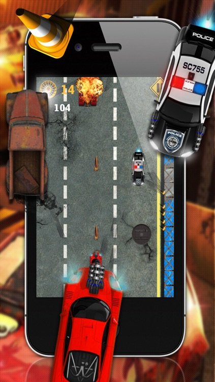 Angry Street Racers - A Free Car Racing Game screenshot-4