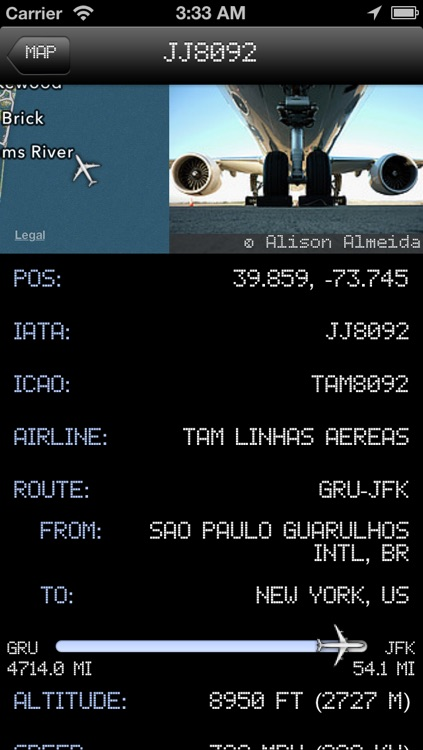 New Jersey Airport - iPlane2 Flight Information screenshot-3