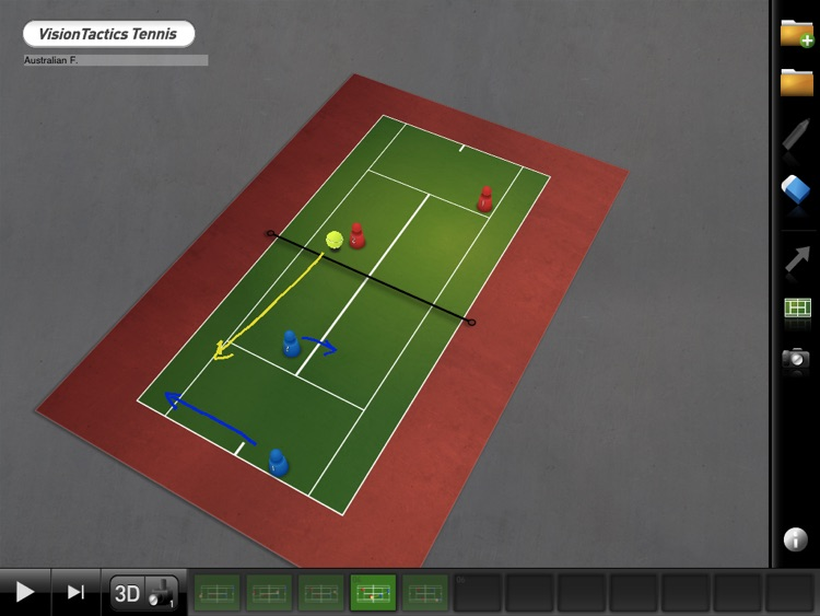 VisionTactics Tennis screenshot-0