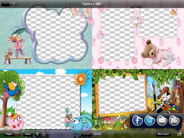 Cam++ Baby Photo Frames HD on the App Store