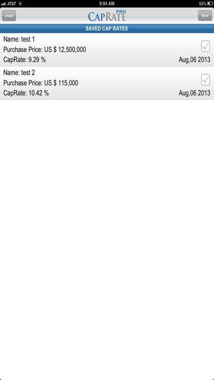 CAP RATE PRO screenshot-4