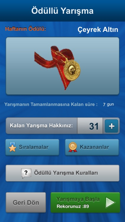 Bilgi Yarışı screenshot-3