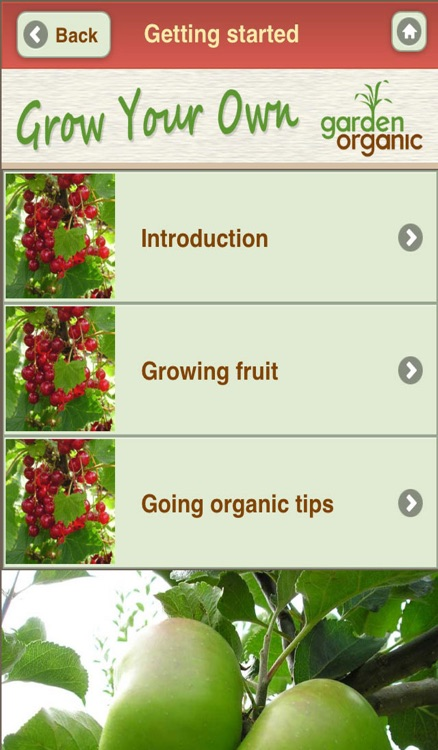 Growing Your Own Organic Fruit with Garden Organic