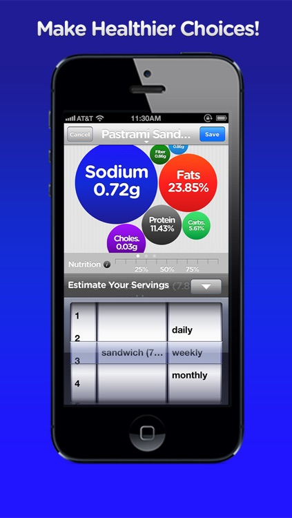 FoodBalance screenshot-4