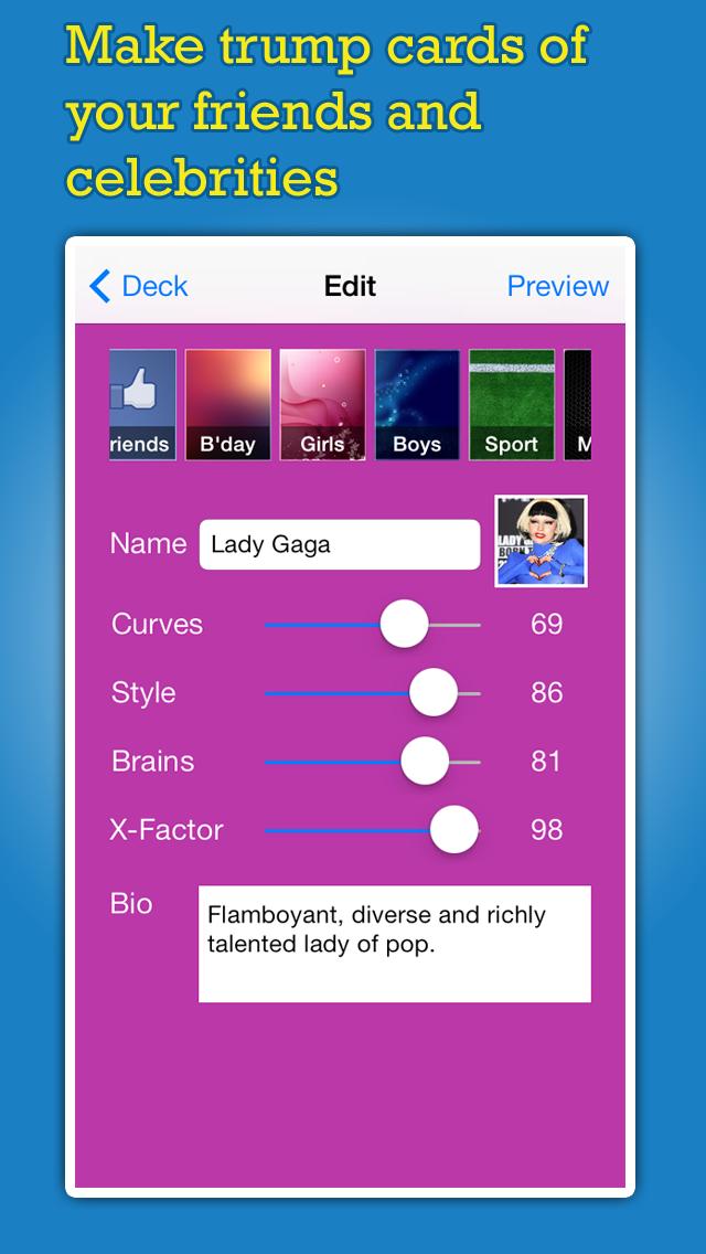 Deck: Trump Card Maker screenshot two
