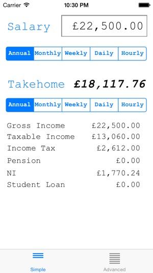 Salary Calculator Uk On The App Store