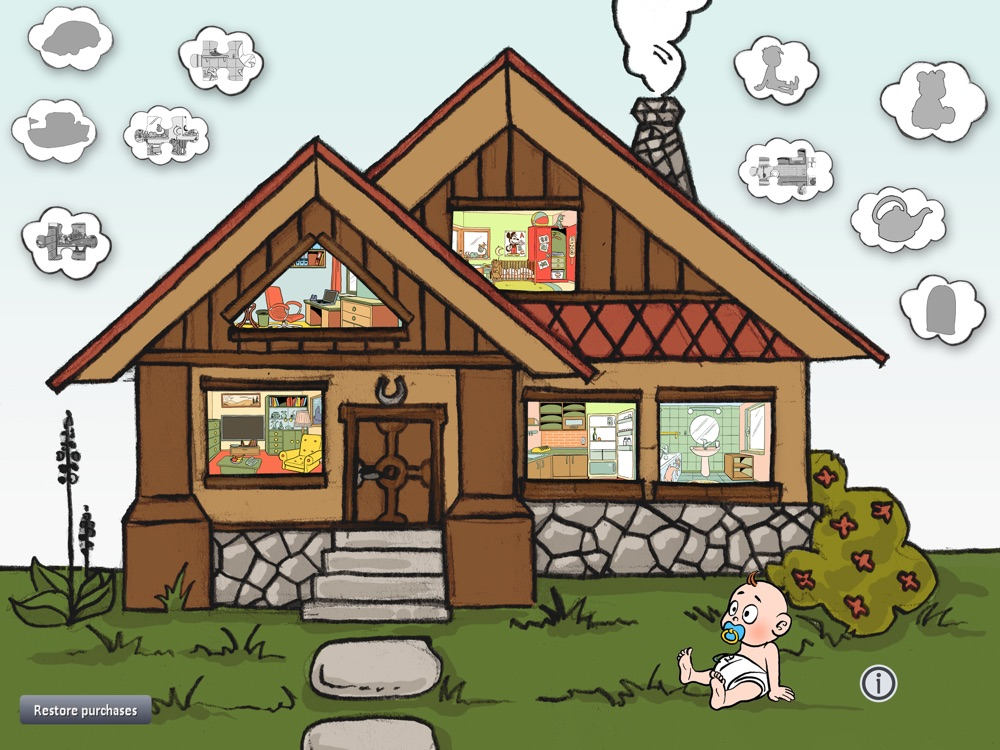 TidyUp! clean the room & house - best free puzzle educational games for kids or your toddler (learn & teach) hack tool