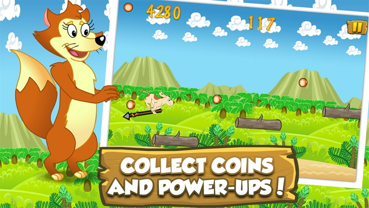 Farm Animal Runners - Lost In The Wilderness Adventure