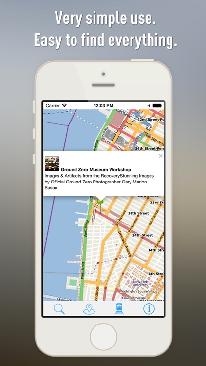 Offline Map New York - Guide, Attractions and Transports screenshot-3