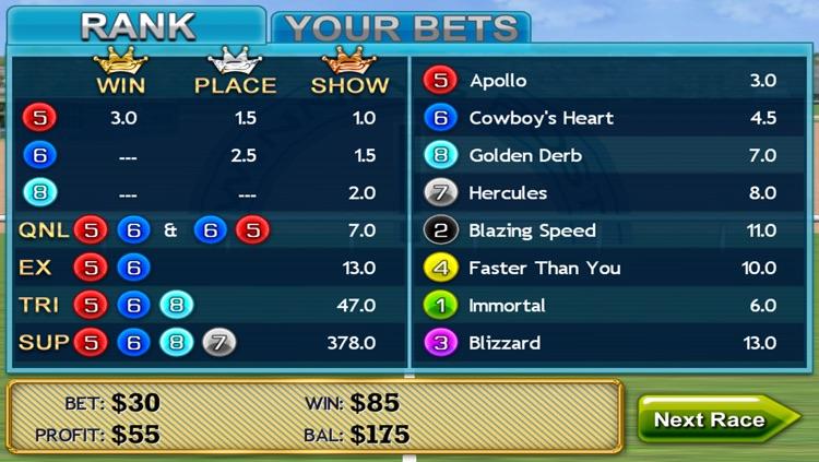Virtual Horse Racing 3D Lite screenshot-4
