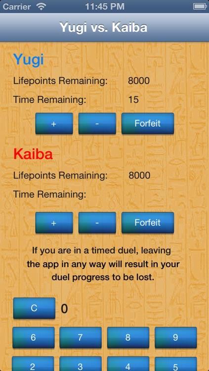 Duel Calculator Yu-Gi-Oh! Edition screenshot-3