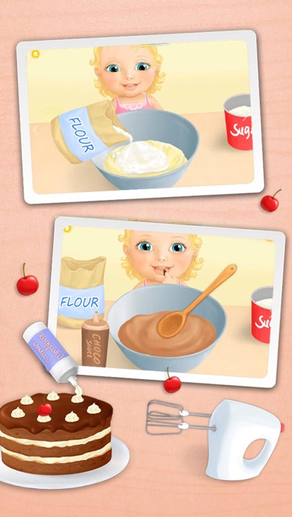 Sweet Baby Girl - Celebrate Baby Birthday, Bake Cake, Get Gifts and Pop Baloons screenshot-1