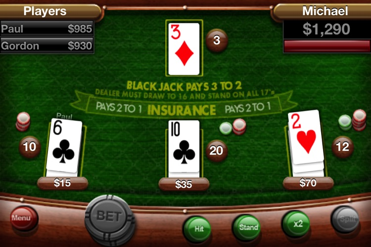 Card Master Lite - Texas Hold'em - Poker - Blackjack