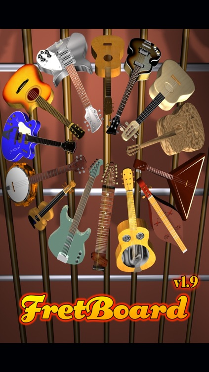 FretBoard LE: Chord, Scale, Note & Mode on Guitar, Bass, Ukulele, Banjo, Violin & stringed instruments