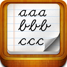 Handwriting worksheets for children: Learn to write the letters of the alphabet in script and cursive
