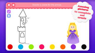 Doodle Fun for Girls - Draw & Play with Princesses Fairies