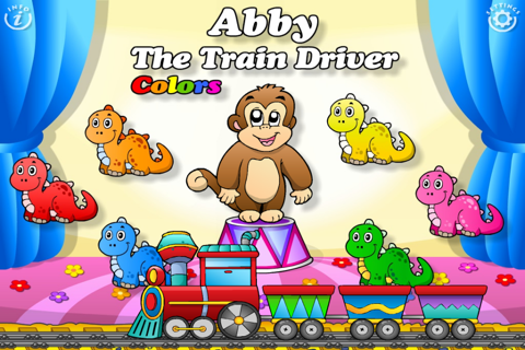 Preschool Colors Toys Train • Kids Love Learning Colors: Fun Interactive Educational Adventure Games with Animals, Cars, Trucks and more Vehicles for Children (Baby, Toddler, Kindergarten) by Abby Monkey® screenshot 1