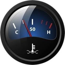 temperature gauge on the mac app store